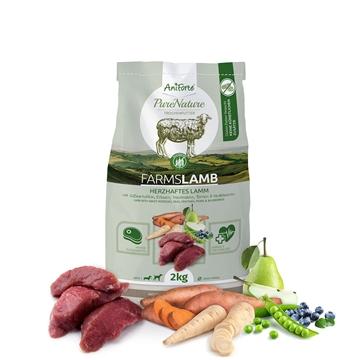 """Bild von AniForte® PureNature Trockenfutter Farms Lambs – """"Herzhaftes Lamm"""""""