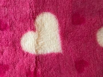 Bild von VETbed  rosa mit Herzen