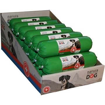 Bild von Hunde Wurst mit BIOSUISSE Poulet mit Kartoffeln, 10 x 400g