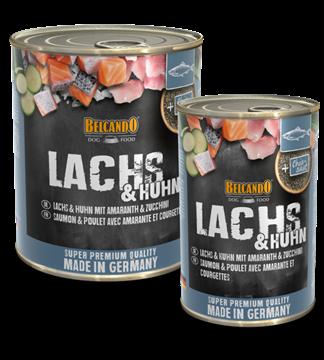 Bild von Belcando Lachs mit Amaranth & Zucchini, Dose à 800g
