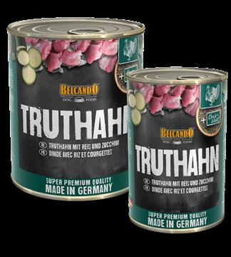 Bild von Pute(Truthahn) mit Reis & Zucchini, Dose à 800g