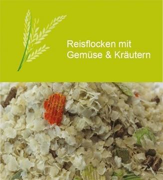 Bild von Reisflocken mit Gemüse & Kräutern 5kg